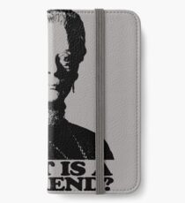 Downton Abbey What Is A Weekend Tshirt iPhone Wallet/Case/Skin