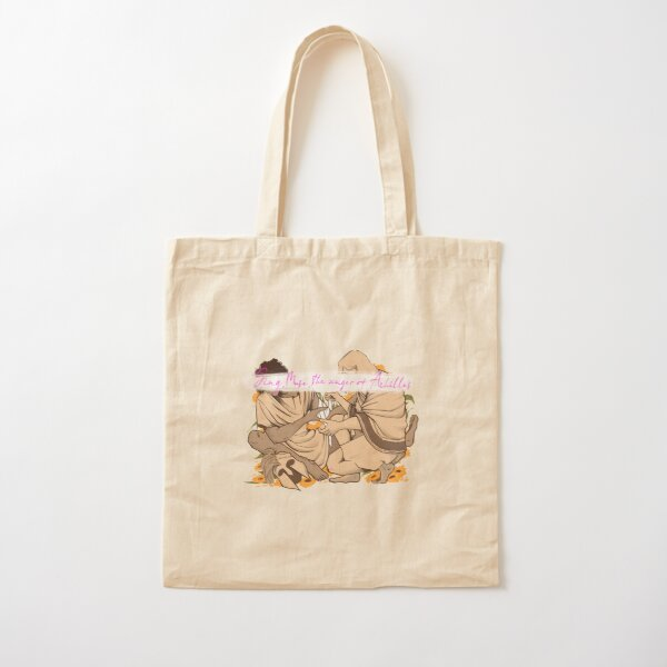 Sing, Muse, of Achilles and Patroclus... Cotton Tote Bag