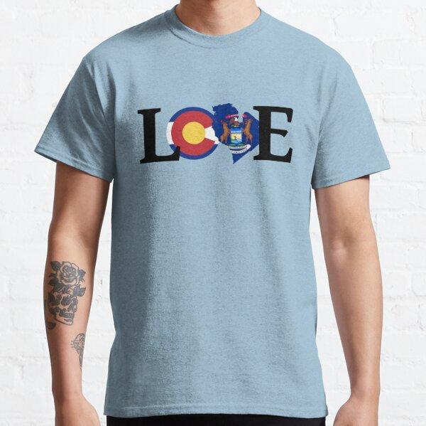 Love - Colorado/Michigan Classic T-Shirt