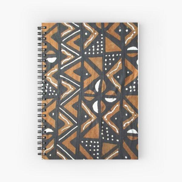Mudcloth 10 Spiral Notebook