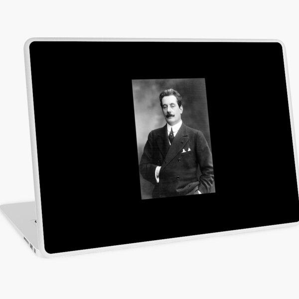 Giacomo Puccini, Italian Composer Laptop Skin