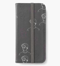 TROYE SIVAN MOSAIC - CHARCOAL iPhone Wallet/Case/Skin