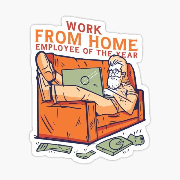 Homeoffice Sticker
