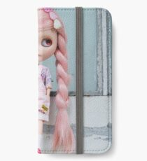 Window to the pink soul iPhone Wallet/Case/Skin