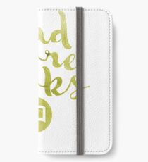 READ MORE BOOKS (GOLD) iPhone Wallet/Case/Skin