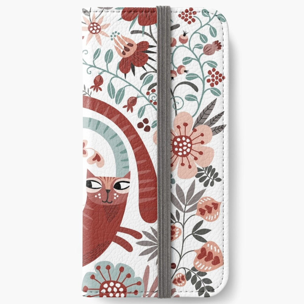 Love cats iPhone Wallet