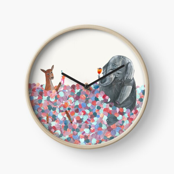 Ball Pool Mocktail Party Clock