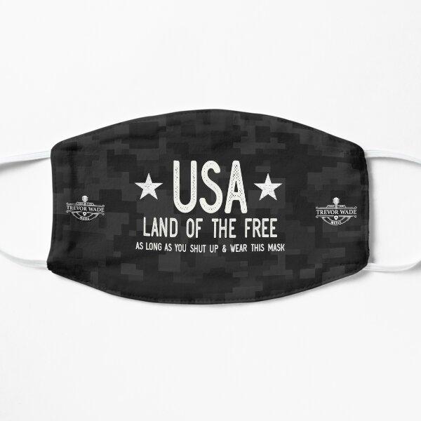 USA - Land of the Free? Flat Mask