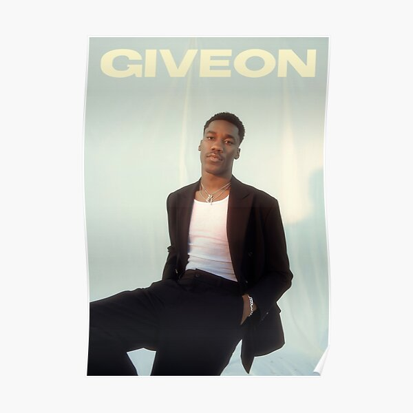 Giveon poster Poster
