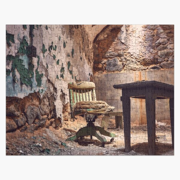 Abandoned Prison Cell Jigsaw Puzzle Jigsaw Puzzle