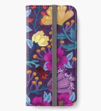 Floral iPhone Wallet/Case/Skin