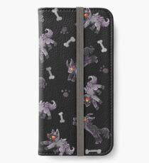 Poochyena & Mightyena pattern iPhone Wallet/Case/Skin