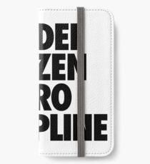 MODEL CITIZEN ZERO DISCIPLINE iPhone Wallet/Case/Skin