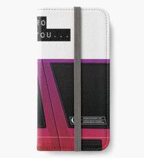 Wenn junge Metro dir nicht traut iPhone Flip-Case/Hülle/Klebefolie