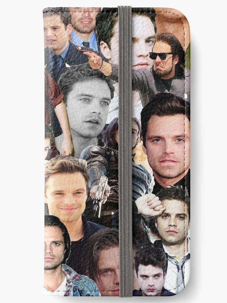 Sebastian Stan Collage  by shopfandomhq