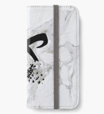 marble angelic rune  iPhone Wallet/Case/Skin