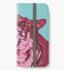 Magenta tiger iPhone Wallet/Case/Skin