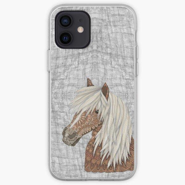 Haflinger Horse iPhone Soft Case