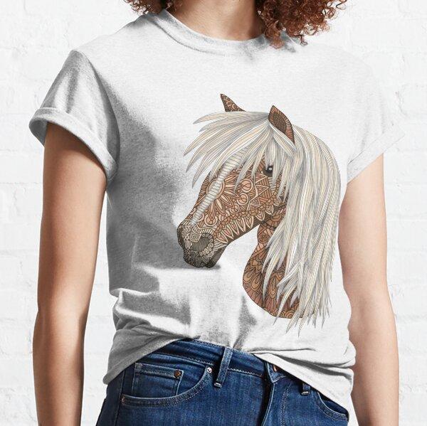 Haflinger Pferd Classic T-Shirt
