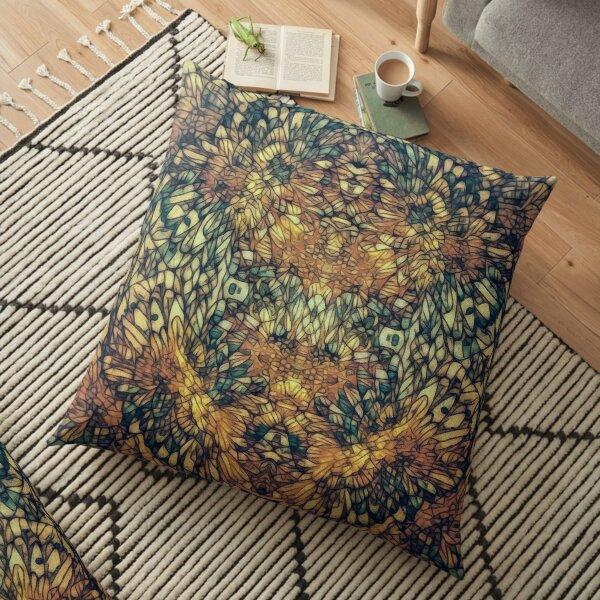 With Flight of Dream Floor Pillow