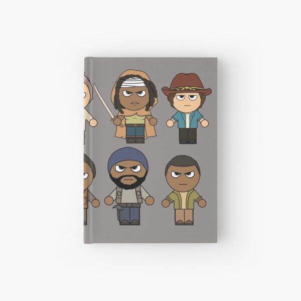 The Walking Dead - Main Characters Chibi - AMC Walking Dead Hardcover Journal