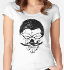 Sir Skull Women's Fitted Scoop T-Shirt