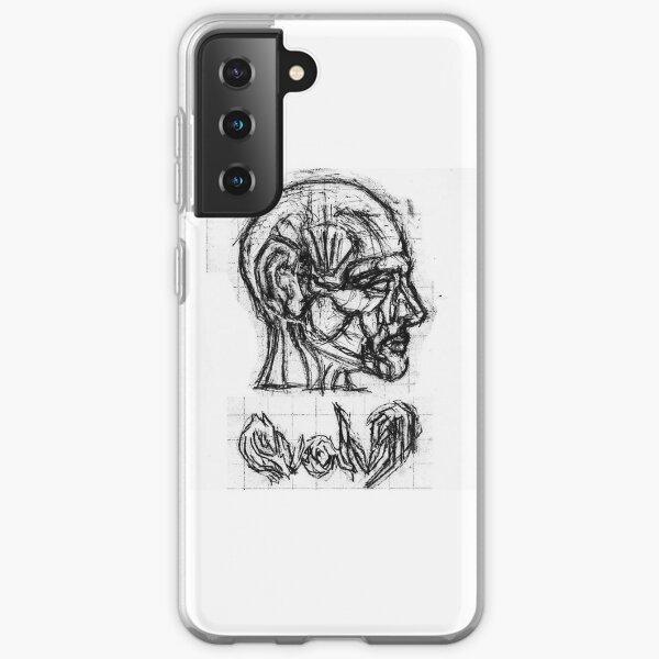 Human Head Anatomy Profile Samsung Galaxy Soft Case