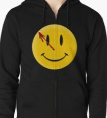 Watchmen Smiley Zipped Hoodie