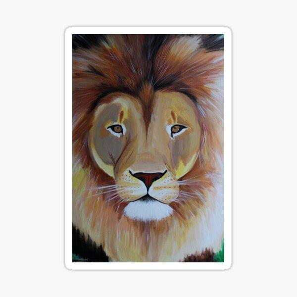 Lion's Mane Sticker