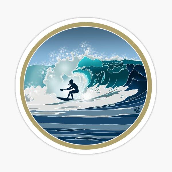 Big Wave SUP Surfer Sticker