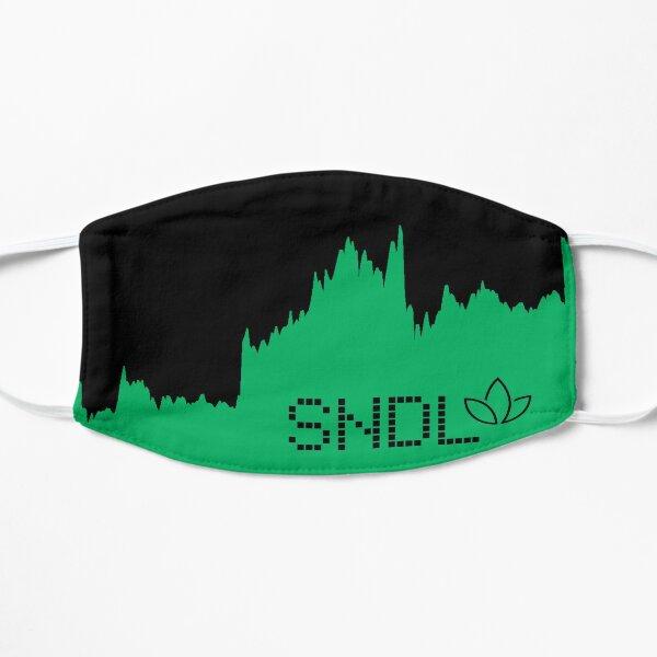 SNDL Sundial Growers in Black Flat Mask