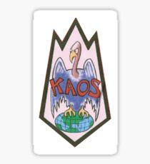 Get Smart KAOS Sticker
