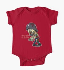 Plants vs Zombies  Say No To Piracy One Piece - Short Sleeve
