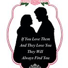 """Captain Swan """"They Will Always Find You"""" Silhouette Design  by Marianne Paluso"""