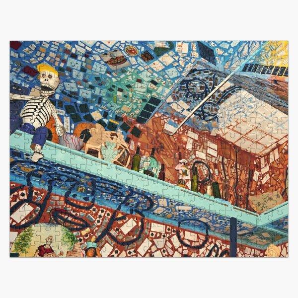 Mosaic mural jigsaw puzzle Jigsaw Puzzle