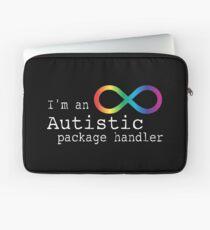 Autistic Package Handler Laptop Sleeve