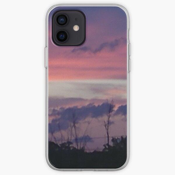 Purple Sunset over Sebastian River iPhone Soft Case