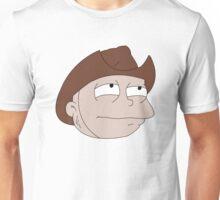 Suspicious Cowboy Tommy Unisex T-Shirt