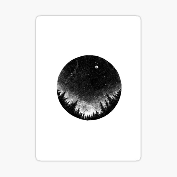 Endless Night Sticker