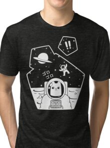 Christobelle Purrlumbus: Oblivious Explorer of Space Tri-blend T-Shirt
