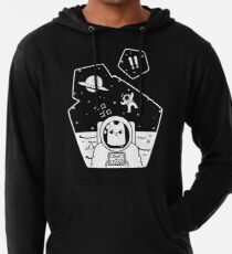 Christobelle Purrlumbus: Oblivious Explorer of Space Lightweight Hoodie