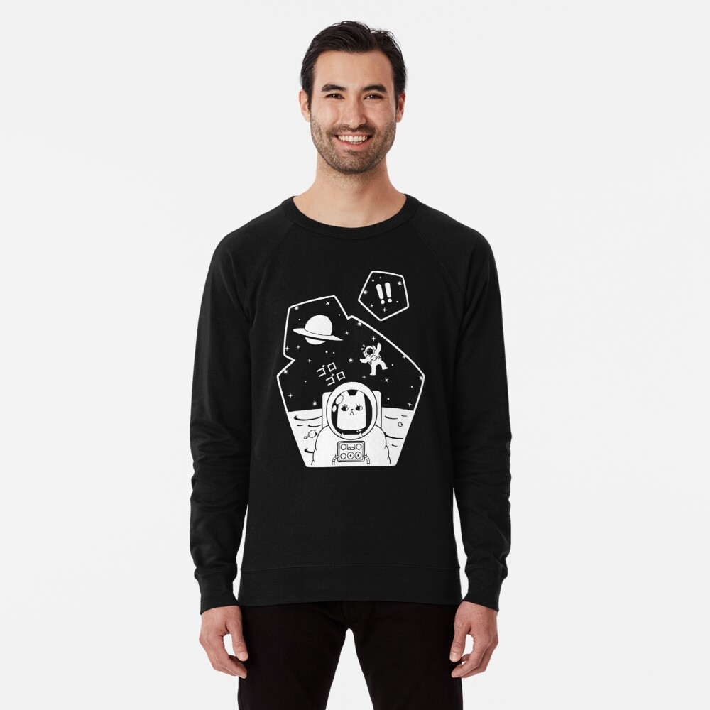 Christobelle Purrlumbus: Oblivious Explorer of Space Lightweight Sweatshirt