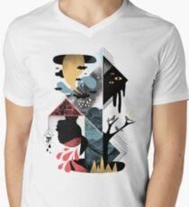 Shapes and Nightmares Men's V-Neck T-Shirt