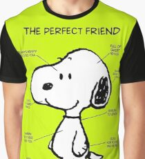 Snoopy : The Perfect Friend Graphic T-Shirt