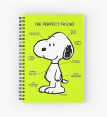 Snoopy : The Perfect Friend Spiral Notebook