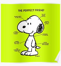 Snoopy : The Perfect Friend Poster