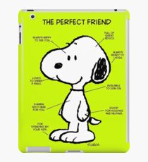 Snoopy : The Perfect Friend iPad Case/Skin