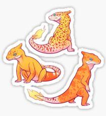 Unusual Charmeleons Sticker