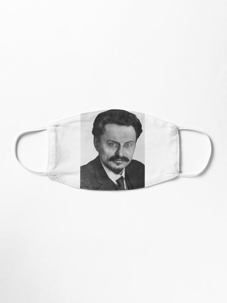 Alternate view of Leon Trotsky Лев #Троцкий Leo Dawidowitsch #Trotzki Lev Davidovich #Bronstein RSDLP Trotskyism #LeonTrotsky #ЛевТроцкий #LeoDawidowitschTrotzki #LevDavidovichBronstein #RSDLP #Trotskyism #Trotsky Mask