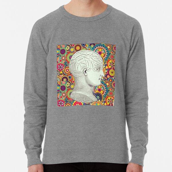 Free Your Mind Psychedelic Phrenology Lightweight Sweatshirt